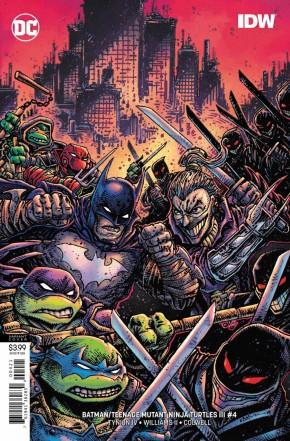 BATMAN TEENAGE MUTANT NINJA TURTLES III #4 VARIANT
