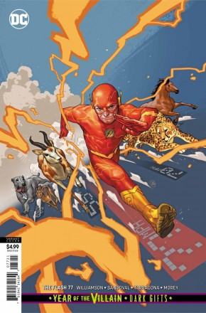 FLASH #77 (2016 SERIES) CARD STOCK VARIANT