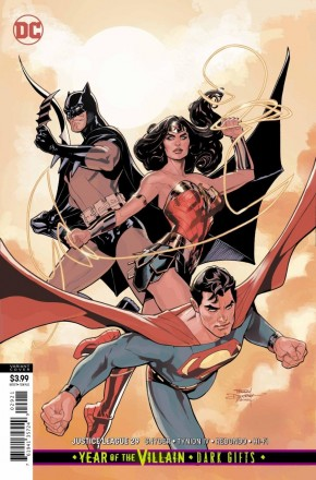 JUSTICE LEAGUE #29 (2018 SERIES) VARIANT