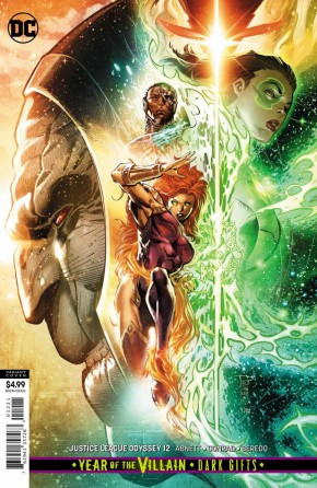 JUSTICE LEAGUE ODYSSEY #12 CARD STOCK VARIANT