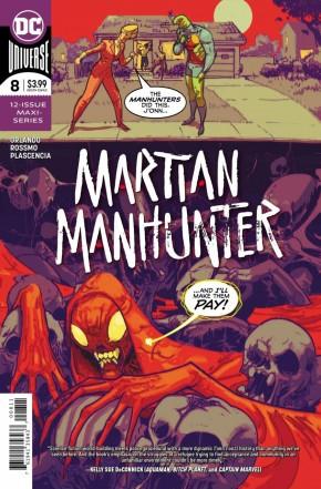 MARTIAN MANHUNTER #8 (2018 SERIES)