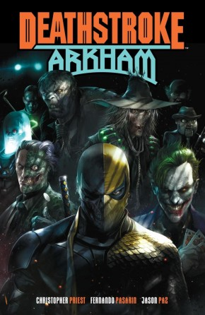 DEATHSTROKE ARKHAM GRAPHIC NOVEL
