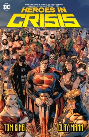 HEROES IN CRISIS HARDCOVER