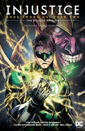 INJUSTICE GODS AMONG US YEAR TWO DELUXE EDITION HARDCOVER
