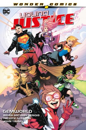 YOUNG JUSTICE VOLUME 1 GEMWORLD HARDCOVER