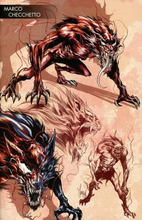 ABSOLUTE CARNAGE #2 CHECCHETTO YOUNG GUNS VARIANT
