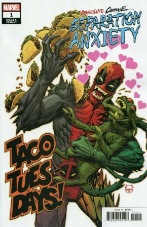 ABSOLUTE CARNAGE SEPARATION ANXIETY #1 JOHNSON CODEX 1 IN 25 INCENTIVE VARIANT