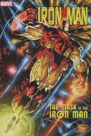 IRON MAN THE MASK IN THE IRON MAN OMNIBUS HARDCOVER