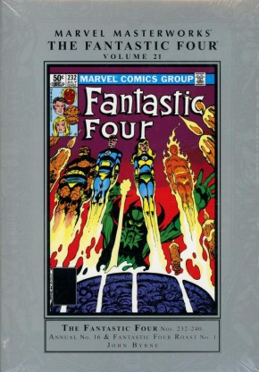 MARVEL MASTERWORKS FANTASTIC FOUR VOLUME 21 HARDCOVER