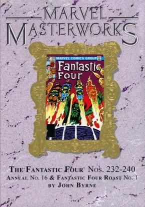 MARVEL MASTERWORKS FANTASTIC FOUR VOLUME 21 DM VARIANT #284 EDITION HARDCOVER