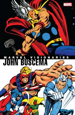 MARVEL VISIONARIES JOHN BUSCEMA GRAPHIC NOVEL