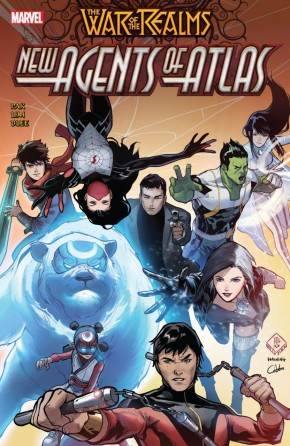 WAR OF THE REALMS NEW AGENTS OF ATLAS GRAPHIC NOVEL