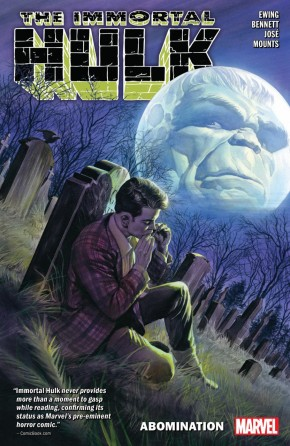 IMMORTAL HULK VOLUME 4 ABOMINATION GRAPHIC NOVEL