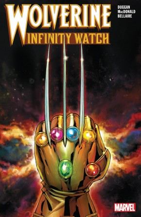 WOLVERINE INFINITY WATCH GRAPHIC NOVEL