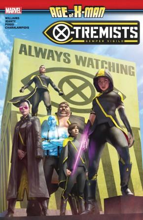 AGE OF X-MAN X-TREMISTS GRAPHIC NOVEL