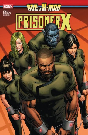 AGE OF X-MAN PRISONER X GRAPHIC NOVEL