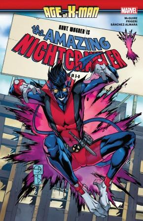 AGE OF X-MAN AMAZING NIGHTCRAWLER GRAPHIC NOVEL