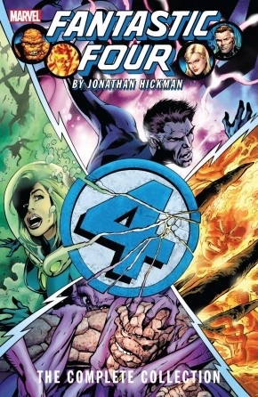 FANTASTIC FOUR BY JONATHAN HICKMAN THE COMPLETE COLLECTION VOLUME 2 GRAPHIC NOVEL