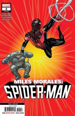 MILES MORALES SPIDER-MAN #2 (2018 SERIES) 3RD PRINTING
