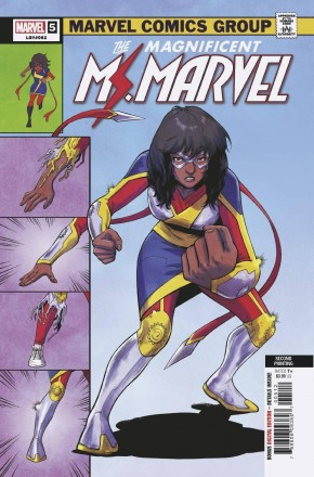 MAGNIFICENT MS MARVEL #5 2ND PRINTING