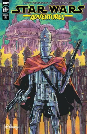 STAR WARS ADVENTURES ANNUAL 2020 BROKENSHIRE 1 IN 10 INCENTIVE VARIANT