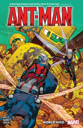 ANT-MAN WORLD HIVE GRAPHIC NOVEL