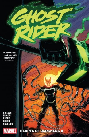 GHOST RIDER VOLUME 2 HEARTS OF DARKNESS II GRAPHIC NOVEL