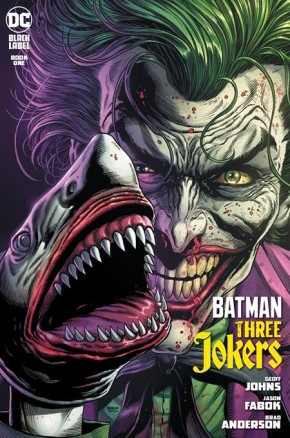 BATMAN THREE JOKERS #1 2ND PRINTING