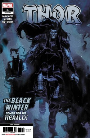 THOR #5 (2020 SERIES) 3RD PRINTING FIRST FULL APPEARANCE OF BLACK WINTER