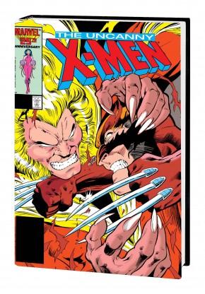 X-MEN MUTANT MASSACRE OMNIBUS HARDCOVER ALAN DAVIS DM VARIANT COVER