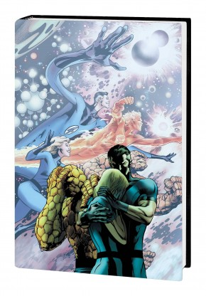 FANTASTIC FOUR BY JONATHAN HICKMAN OMNIBUS VOLUME 1 HARDCOVER ALAN DAVIS DM FINAL ISSUE COVER
