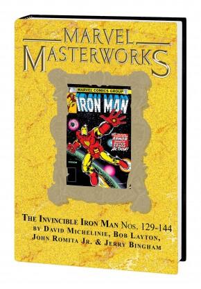 MARVEL MASTERWORKS INVINCIBLE IRON MAN VOLUME 14 DM VARIANT #316 EDITION HARDCOVER