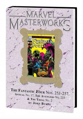 MARVEL MASTERWORKS FANTASTIC FOUR VOLUME 23 DM VARIANT #317 EDITION HARDCOVER