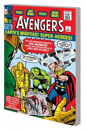 MIGHTY MARVEL MASTERWORKS AVENGERS THE COMING OF THE AVENGERS VOLUME 1 DM COVER