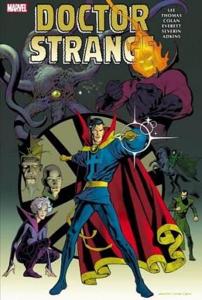 DOCTOR STRANGE OMNIBUS VOLUME 2 HARDCOVER KEVIN NOWLAN COVER