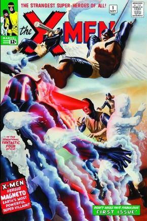 X-MEN OMNIBUS VOLUME 1 HARDCOVER ALEX ROSS COVER