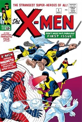 X-MEN OMNIBUS VOLUME 1 HARDCOVER JACK KIRBY DM VARIANT COVER
