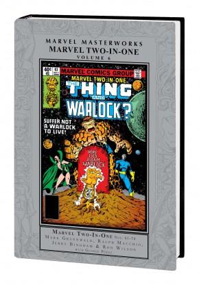 MARVEL MASTERWORKS MARVEL TWO-IN-ONE VOLUME 6 HARDCOVER