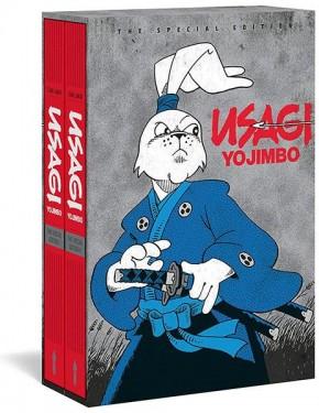USAGI YOJIMBO THE SPECIAL EDITION TWO VOLUME HARDCOVER SET