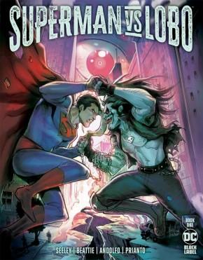 SUPERMAN VS LOBO #1
