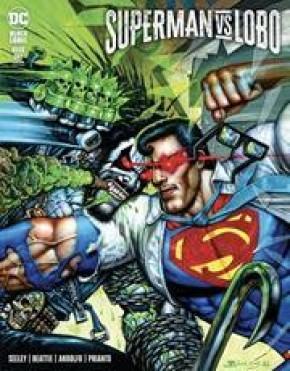 SUPERMAN VS LOBO #1 SIMON BISLEY VARIANT