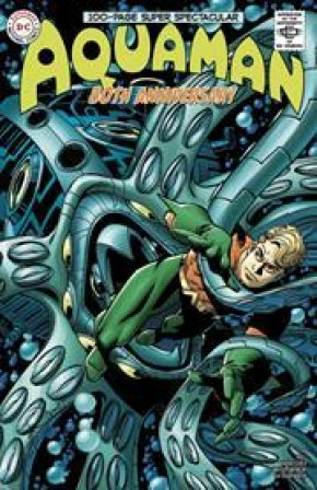 AQUAMAN 80TH ANNIVERSARY 100-PAGE SUPER SPECTACULAR #1 COVER D WALTER SIMONSON 1960S
