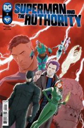 SUPERMAN AND THE AUTHORITY #2