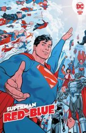 SUPERMAN RED AND BLUE #6