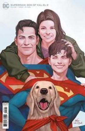 SUPERMAN SON OF KAL EL #2 INHYUK LEE STOCK VARIANT