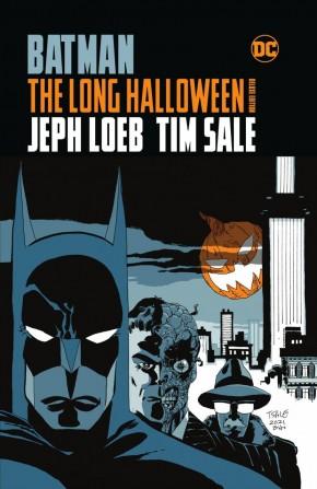 BATMAN THE LONG HALLOWEEN DELUXE EDITION HARDCOVER