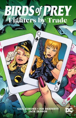 BIRDS OF PREY FIGHTERS BY TRADE GRAPHIC NOVEL