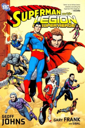 SUPERMAN AND THE LEGION OF SUPER-HEROES HARDCOVER