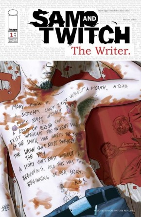 SAM AND TWITCH THE WRITER #1