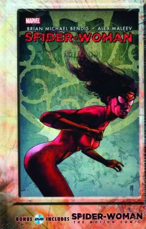SPIDER-WOMAN AGENT OF SWORD HARDCOVER WITH MOTION COMIC DVD